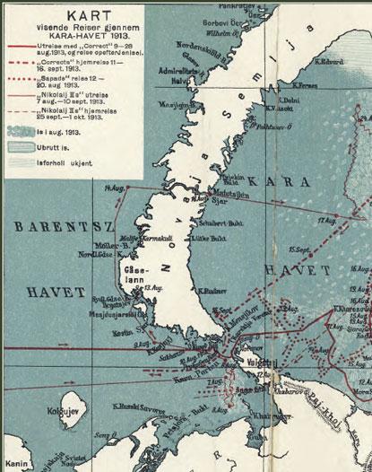 Сибирская Арктика. Карта